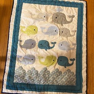 Baby/Toddler whale comforter